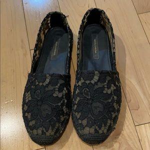 Dolce & Gabbana Lace Espadrilles